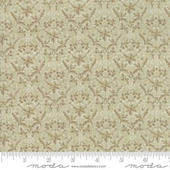 7314-11m Morris Holiday Linen Metallic
