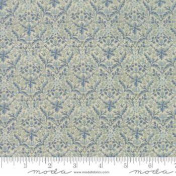 7314-13m Morris Holiday Indigo Light Blue Metallic
