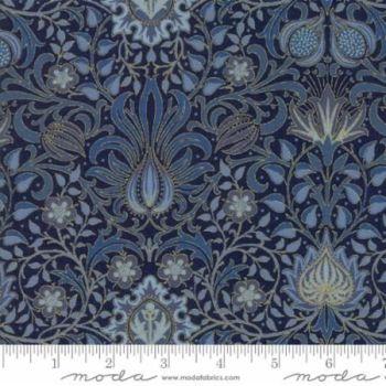 7311-17m Morris Holiday Indigo Blue Metallic