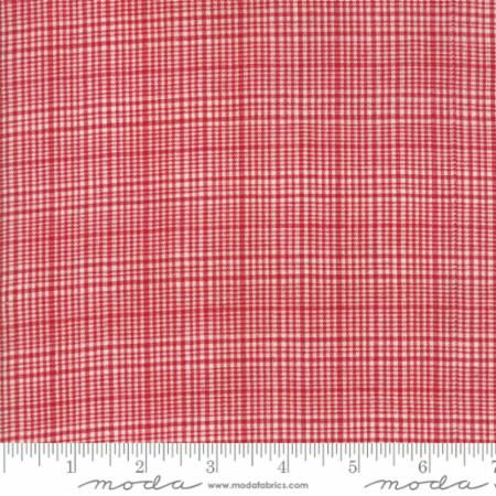 12134-14 Picnic Basket Plaid Red