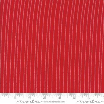 12134-17 Picnic Basket Dobby Red