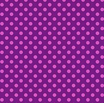 PWTP118FOXGL Spots Purple and Pink