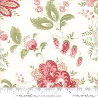 44190 11 Porcelain Floral Natural