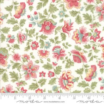 44191 11 Porcelain Floral Multi Colours