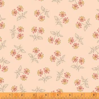 50933-1 Blythe Floral Coral Pink