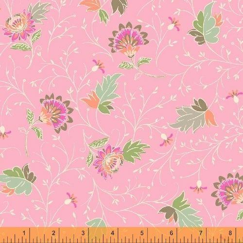 50932-5 Blythe Floral Bright Pink