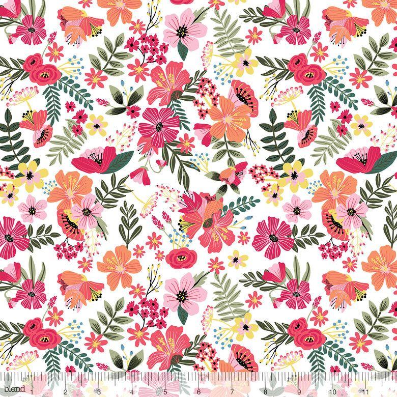 129.101.03.2 Floral Pets - Gardenara White