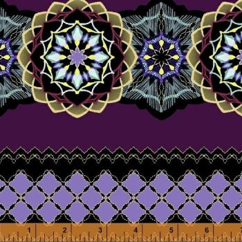 51221M-2 Grand Illusion Mandala Purple