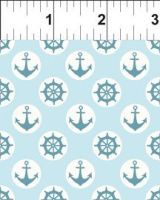 4tga_1 Teddy's Great Adventure Anchors Light Blue