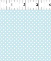 9tga_1 Teddy's Great Adventure White Dots on Light Blue