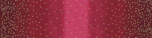 10807-317M Ombre Confetti Metallic New Burgundy Red