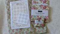 Brenda Riddle Pattern and Fabric Kit Olivia 54 Inch Square