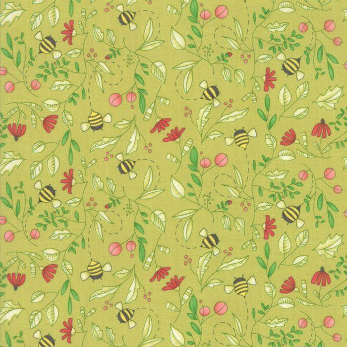 48662-13 Painted Meadow Sprig