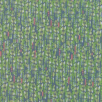 48664-12 Painted Meadow - Watercolour Stripe - Teal