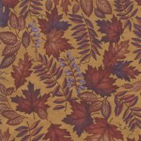 6791-14 Country Charm Leaves Sunflower