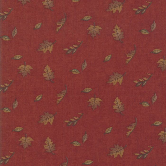 6793-16 Country Charm Falling Leaves Orange