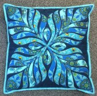 Feathered Applique Cushion Pattern