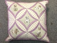 Dog Chapel Window Cushion Pattern by Juberry Designs