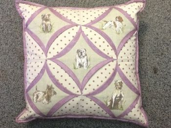 Dog Chapel Window Cushion Pattern by Juberry Designs