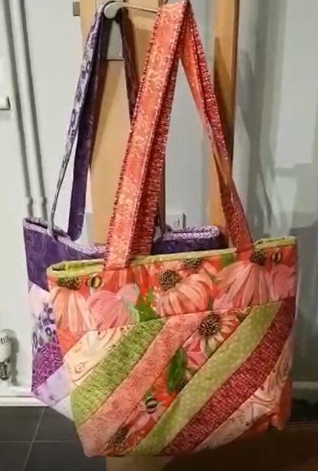 Finishing the bag