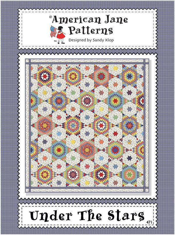 Under the Stars Quilt Kit by American Jane