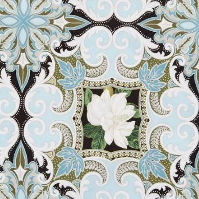 6336-M05 Southern Charm Magnolia Medallion