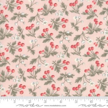 44244 12 Daybreak Blush Rose Hips and Flowers on Pink