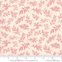 44245-12 Daybreak Blush Foliage Pink and Cream