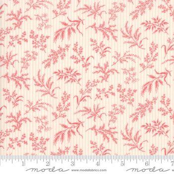 44245-12 Daybreak Blush Foliage Pink and Cream