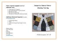 Charming Tote Bag Pattern