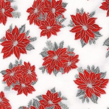 SRKM-19926-93 Red Flowers White