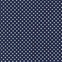 SG4607-NAVY Small White Dots on a Navy Background
