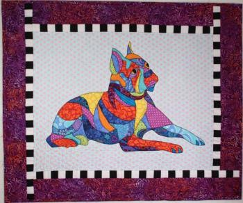BJBA-83 Baxter the Dog by B J Designs