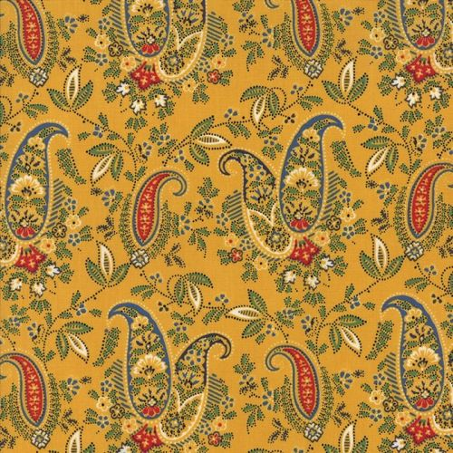 A La Carte - Paisley in Yellow (21660 14)