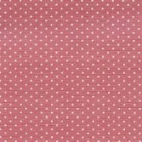 88190 1-9 - White Pin Spot on Dusky Pink