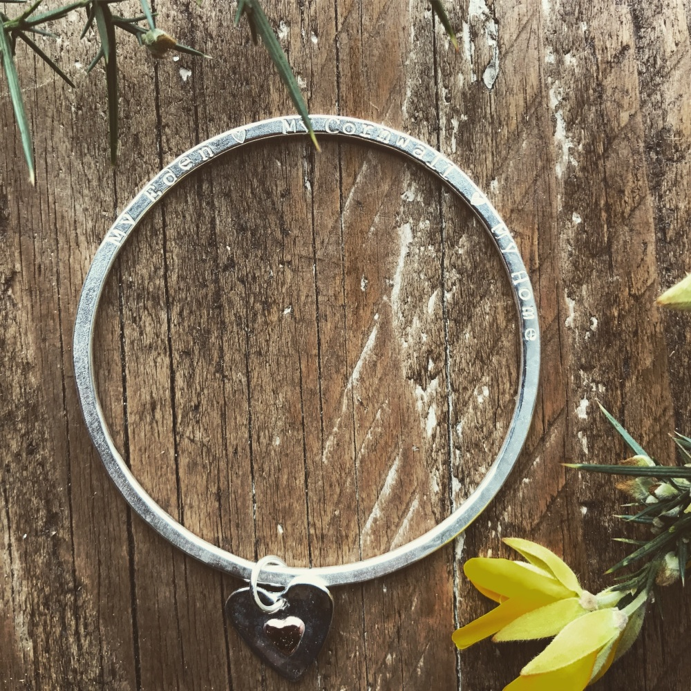 'Cornwall My Home' Bangle