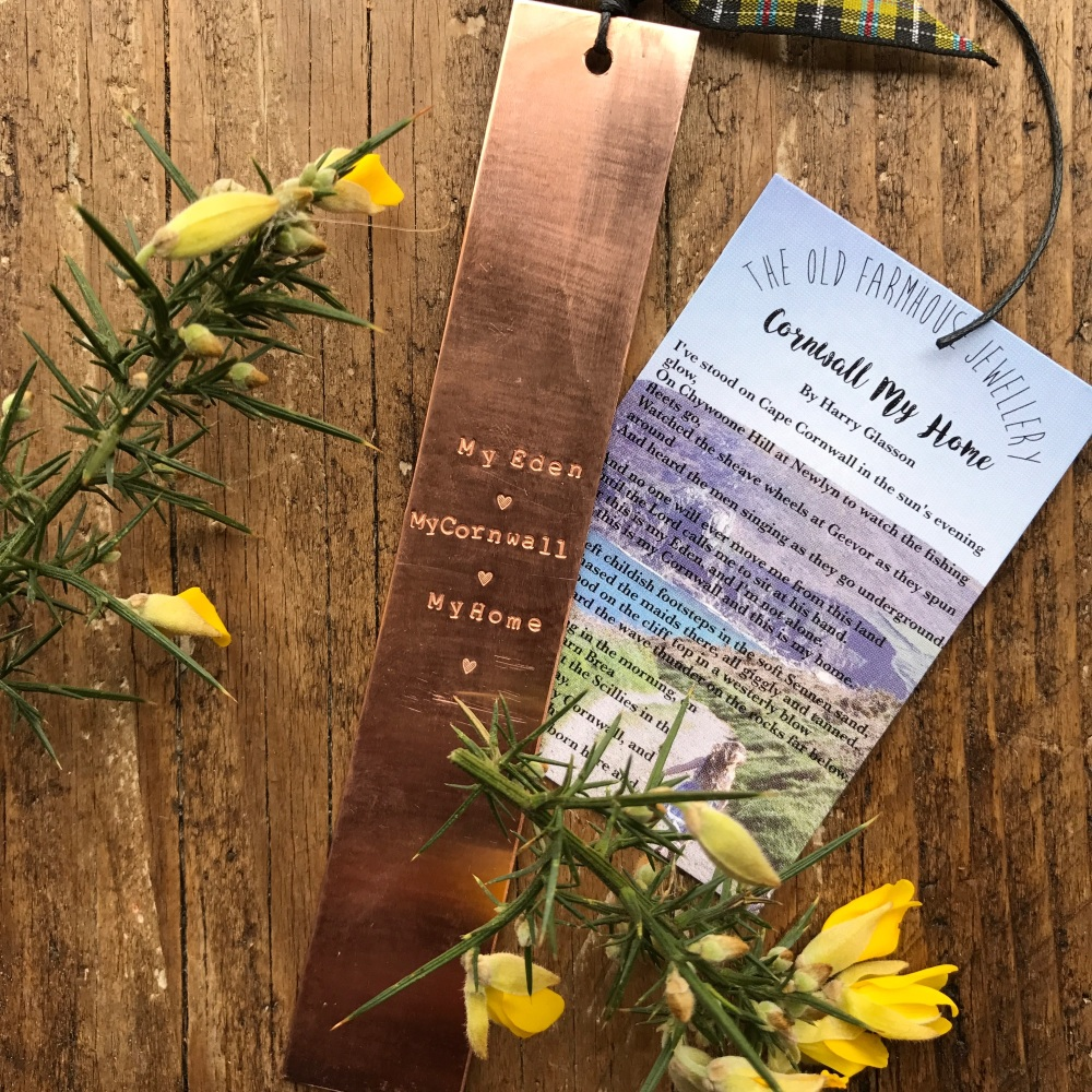 'Cornwall My Home' Bookmark