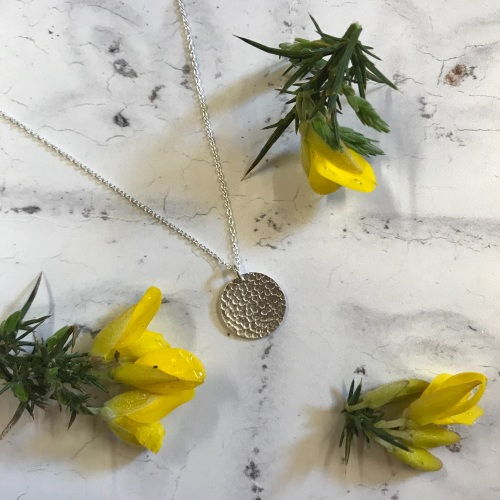 Hammered Disc Necklaces