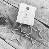 Wire Star Earrings