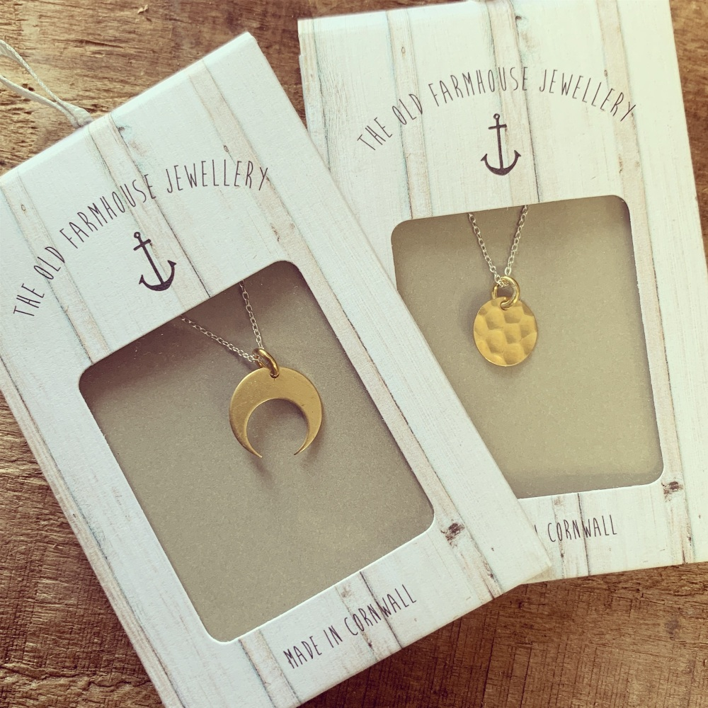 Brass Shape Necklaces