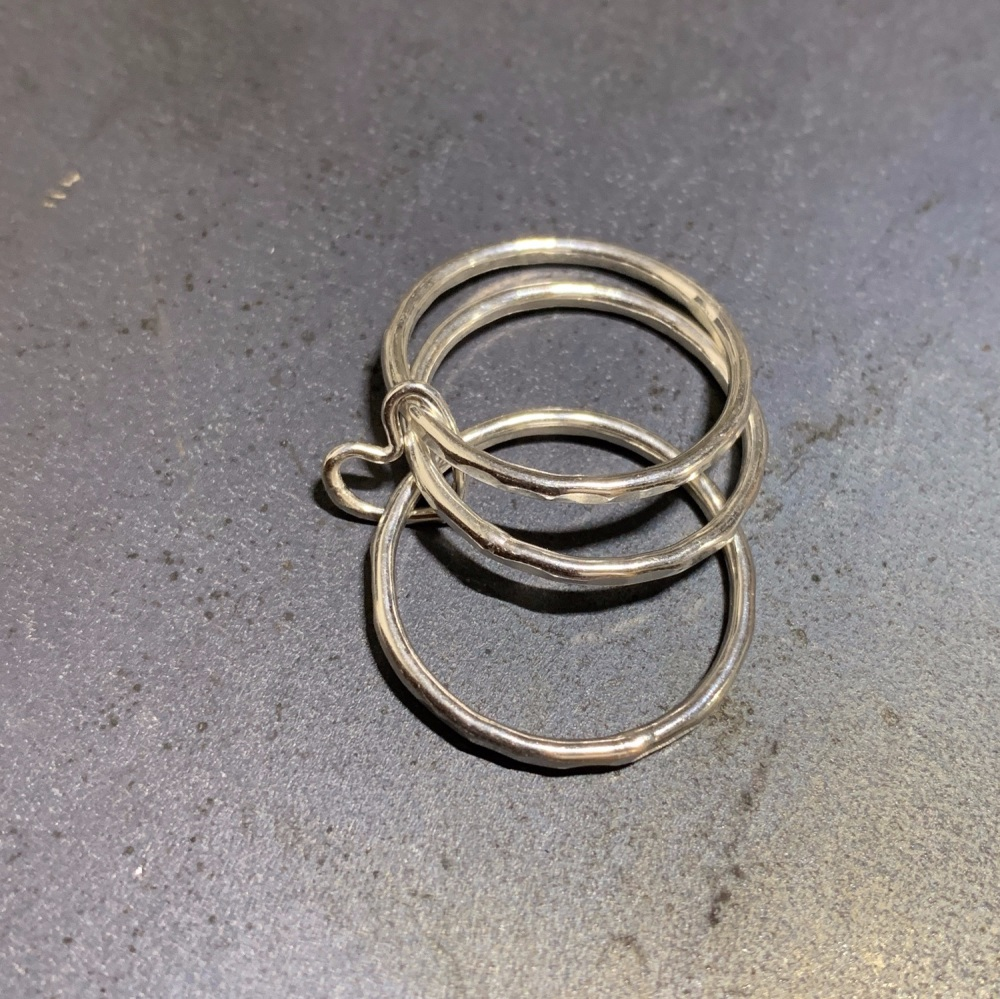 Heart Joined Rings