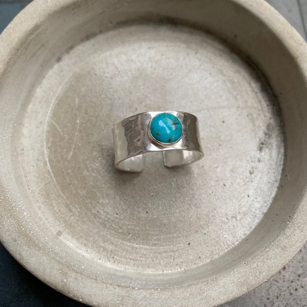 Open Wide Stone Setting Ring