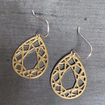 Teardrop Hook Earrings