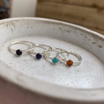 4mm Stone Stacking Ring