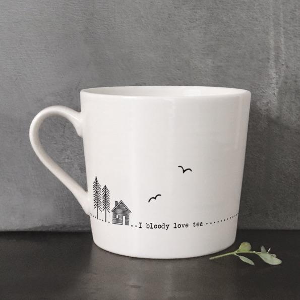 I Bloody Love Tea Mug