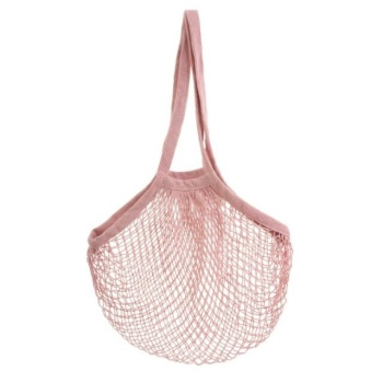 Pink String Shopper Bag