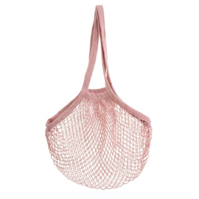 Pink String Shopper Bag