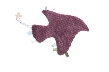 Comfort Blanket -  Mauve Bird