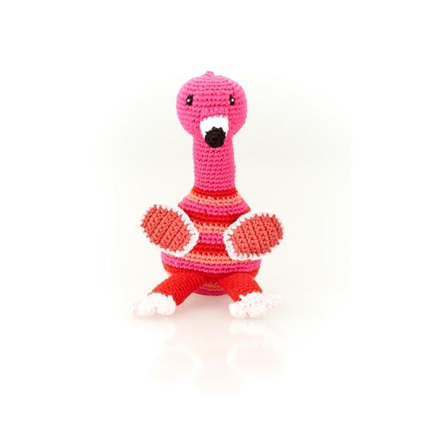 Flamingo Rattle