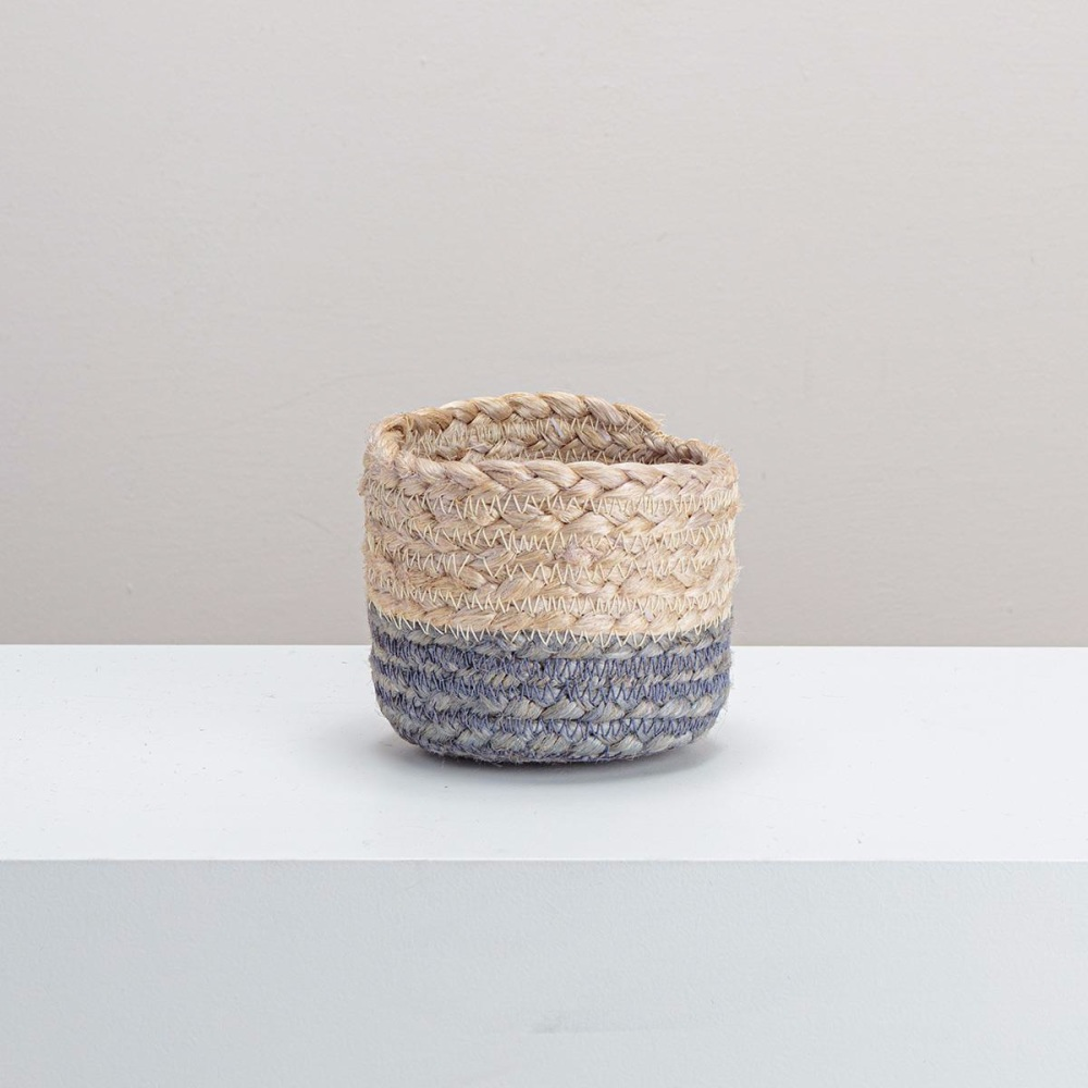 Jute Dipped Basket - Extra Small